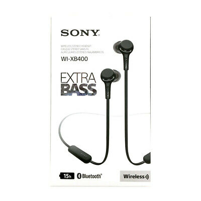 $ CDN49.95 • Buy Sony Wi-XB400 Wireless In-Ear Extra Bass Headphones, Black - Brand New Sealed