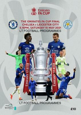 £14.99 • Buy * 2021 FA CUP FINAL OFFICIAL PROGRAMME - CHELSEA V LEICESTER CITY (15th May) *