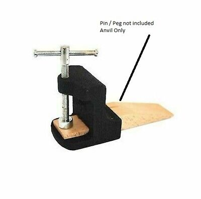 £12.49 • Buy Bench Pin Combination Anvil Tool Jewellery Makers Peg Jewellers Clamp Crafts