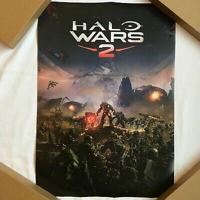 £11.90 • Buy Halo Wars 2 Promo Poster Gamescom 2016 Official 42x59cm  NEW