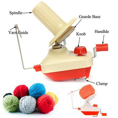 Swift Yarn Fiber String Ball Wool Winder Holder Hand Operated Winding Machine  • 9.95£