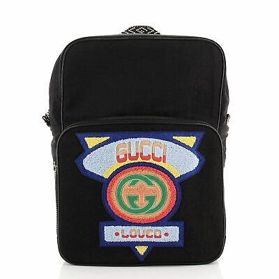 AU1174.04 • Buy Gucci 80's Patch Backpack Nylon Medium