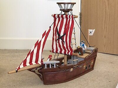 £12 • Buy ELC Wooden Pirate Ship