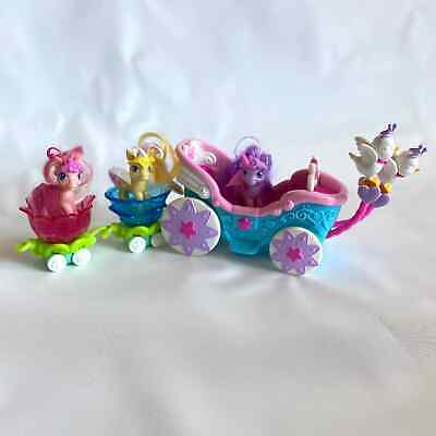 My Little Pony Breezies Parade Carriage Birds Crowns 8 PC Lot G3 2000s  • 21.20£