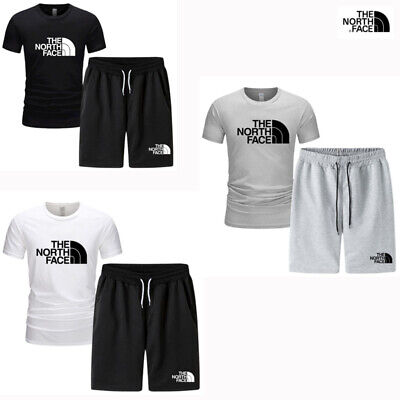 £16.33 • Buy The NORTH FACE Men Tracksuit Outfit Short Sleeve T-Shirt Shorts Pants Jogge Suit