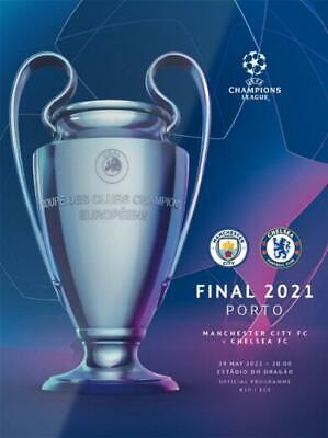 £15.99 • Buy * 2021 CHAMPIONS LEAGUE FINAL - MANCHESTER CITY V CHELSEA (29th May 2021) MAN *