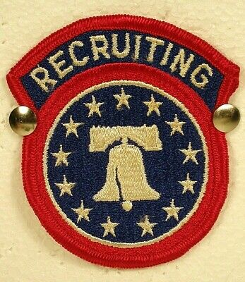 £3.58 • Buy US Army Recruiting Command Patch Insignia Badge Full Color