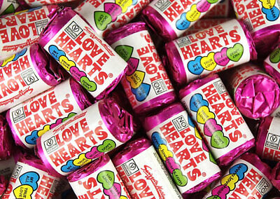 £3.95 • Buy Swizzels Mini Love Heart Sweets Wedding Favours Retro Party Valentines Candy