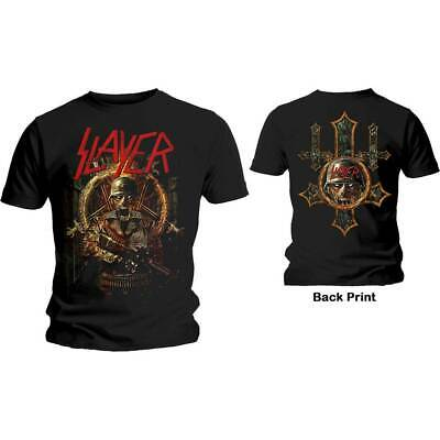 £16.95 • Buy SLAYER UNISEX TEE: HARD COVER COMIC BOOK (BACK PRINT) T-shirt 100% Official
