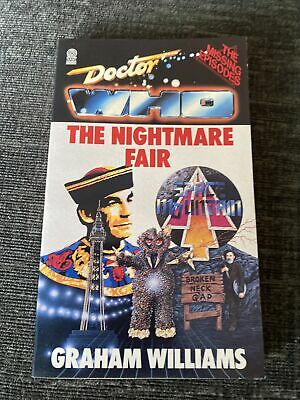 Doctor Who - The Nightmare Fair - Target Paperback - 1st Edition - Excellent • 9.99£