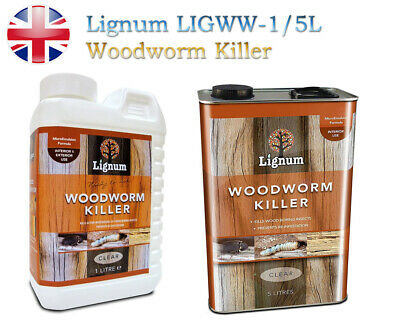 £10.75 • Buy Woodworm Killer Spray Ready To Use Timber Wood Treatment Insecticide Clear 1L/5L