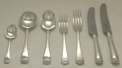 £74.95 • Buy OLD ENGLISH PIP Design COOPER BROS Sheffield Silver Service 14 Piece Cutlery Set