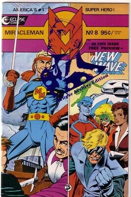£17.75 • Buy Miracleman 8 Archives Blue Eclipse Uncircluated Variant Comic W/coa 40 1986 Vf+