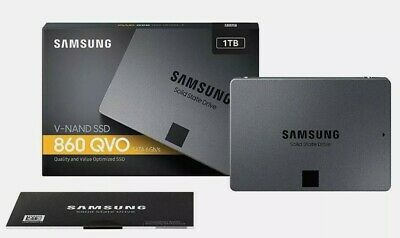 £84.95 • Buy Samsung 860 QVO **1TB** 2.5  Internal Solid State Drive (SSD)- NEW