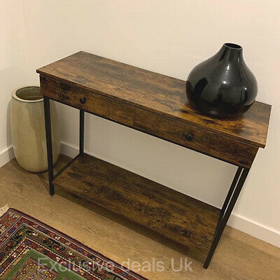 £77.70 • Buy Industrial Style Console Table Vintage Hall Entryway Living Room Furniture Retro