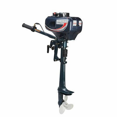 AU327.10 • Buy 3.5HP 2 Stroke Outboard Motor Engine Fishing Boat With Water Cooling CDI System
