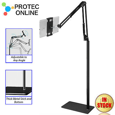 AU39.95 • Buy For Phone IPad Tablet Stand Holder Adjustable Floor Stand With 360° Rotating 13