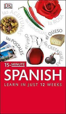 £4.99 • Buy 15 Minute Spanish: Learn In Just 12 Weeks By Ana Bremn (Paperback) Amazing Value