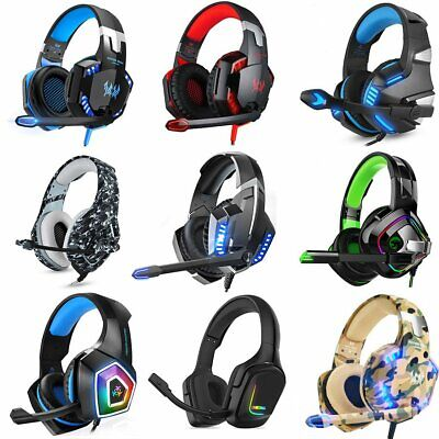 £16.95 • Buy ONIKUMA Gaming Headset MIC LED For PC Laptop PS4 PS5 Xbox One Nintendo Switch
