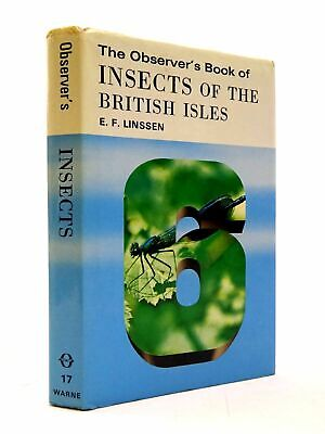 £70.10 • Buy THE OBSERVER'S BOOK OF INSECTS OF THE BRITISH ISLES (CYANAMID WRAPPER) - Linssen