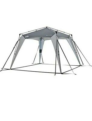 Qeedo Quick Space Camping Event Shelter/Gazebo Quick Assembly - 8 Person • 120£