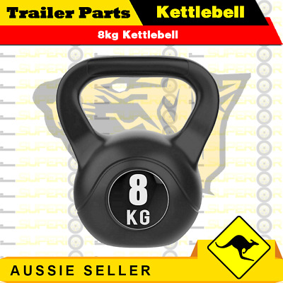 AU28 • Buy 8kg Kettlebell - Home Gym Kettlebell Weight Fitness Exercises Energetics