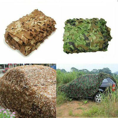 $18.69 • Buy Outdoor Military Camouflage Mesh Net Hidden Shade Hunting Mesh Cover 2 Layers US
