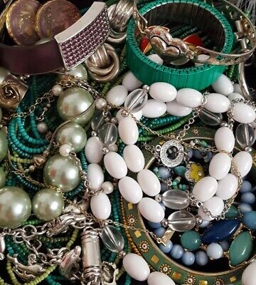 $ CDN36.29 • Buy Vintage Now Unsearched Untested Junk Drawer Jewelry Lot All Wear Estate L881