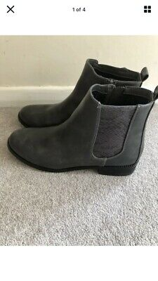 £15 • Buy Next Grey Chelsea Ankle Boots Size 6