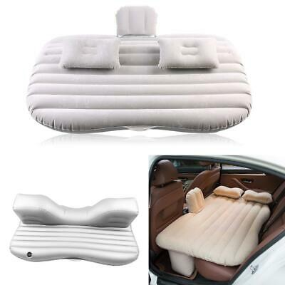 £20.97 • Buy Car Inflatable Travel Mattress Air Bed Back Seat Sleep Mat With Pillow&Free Pump