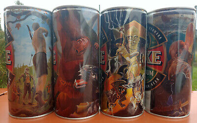 $ CDN41.10 • Buy FAXE Empty Beer Cans VIKING Saga 2021 SET 4 Cans Limited Edition