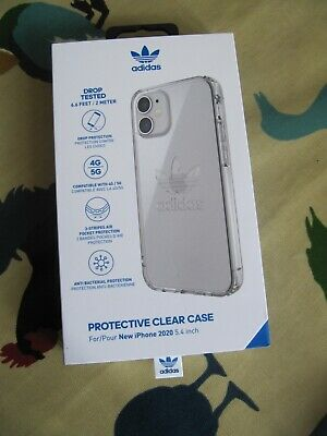 AU18.25 • Buy Adidas Protective Clear Case For IPhone 2020 5.4 Inch