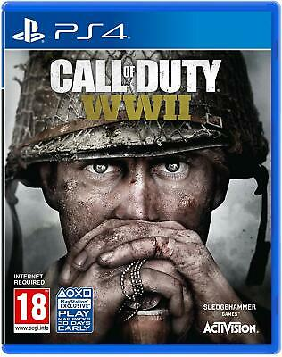 Call Of Duty WWII PS4 New Sealed • 18.99£