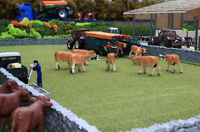 £12.99 • Buy Brushwood Toys 1:32 Scale Autumn Grass Field Bt2083