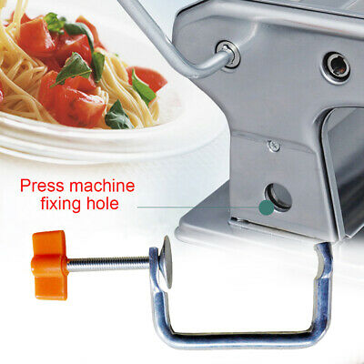 £6.20 • Buy Durable Manual Noodle Maker Pasta Machine Holder Handle Tool Parts Fixing Clip