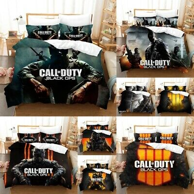 £17.21 • Buy Call Of Duty Quilt Duvet Cover COD Game Bedding Sets Singel Double Size Boy Girl
