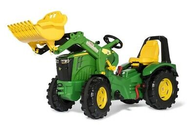 £338.16 • Buy Rolly X-Trac Premium John Deere 8400R Ride-On Tractor + Loader