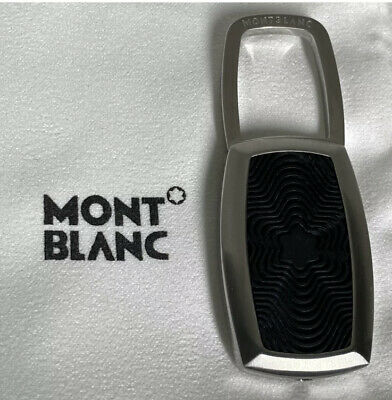 £80 • Buy Montblanc Stainless Steel And Rubber Key Ring