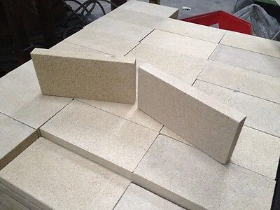 £19.50 • Buy Villager Stove Fire Bricks, Pack Of 10-4.5  X  9  X 1  Thick Vermiculite