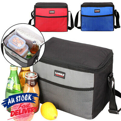 AU12.55 • Buy 5L Cool Bag Lunch Bag Portable Picnic Tote Thermal Insulated Women Men Lunch Box