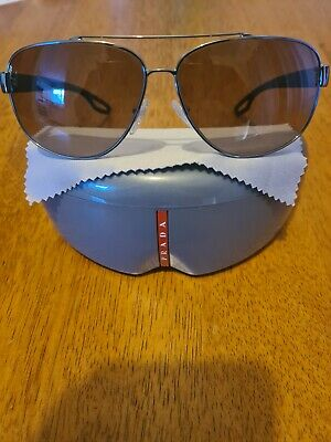 AU160 • Buy Prada Mens Sunglasses Genuine New Condition Worn Once Made In Italy