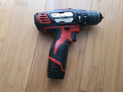 £55 • Buy Milwaukee M12 BPD 12V Cordless Hammer Drill Sold With 1.5AH Replacement  Battery