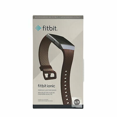 $ CDN42.32 • Buy OPEN BOX Fitbit Ionic Perforated Accessory Band In Cognac - Quality Leather - S