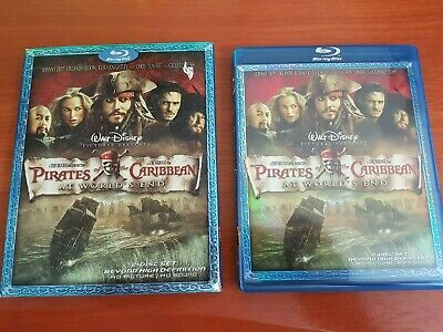 AU7.95 • Buy Pirates Of The Caribbean: At Worlds End Blu Ray - Johnny Depp 2 Disc Set