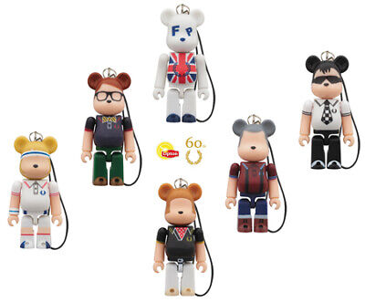 $24.90 • Buy FRED PERRY Bearbrick MEDICOMTOY BE@RBRICK 70% Lipton / Not For Sale 6 Set