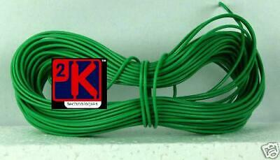 £2.45 • Buy Model Railway Peco Or Hornby Point Motor Etc Wire 1x10m Roll 7/0.2mm 1.4A Green2