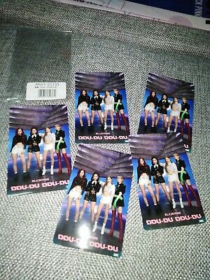 $ CDN21.78 • Buy BlackPink DDu-Du​ DDu-Du Photo Sticker Card 5 Pcs. In Pack Imported From​ Japan​