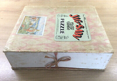 £25 • Buy GREAT WESTERN RAILWAY Co. Chad Valley Wooden Jig-Saw Puzzle 400 Pieces COMPLETE.