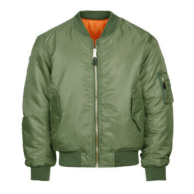 £40.50 • Buy US Army Air Force Flight Jacket Ma-I USAAF Bomber Reversible