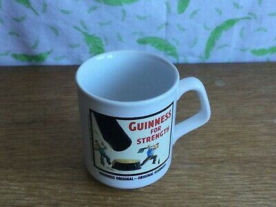 £10 • Buy Guinness For Strength Advertising Mug - Made In England - TAMS - VGC - T3